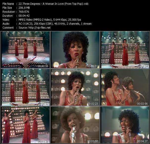 Three Degrees video screenshot