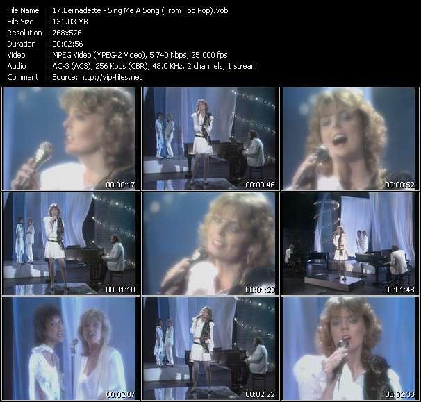 Bernadette video screenshot