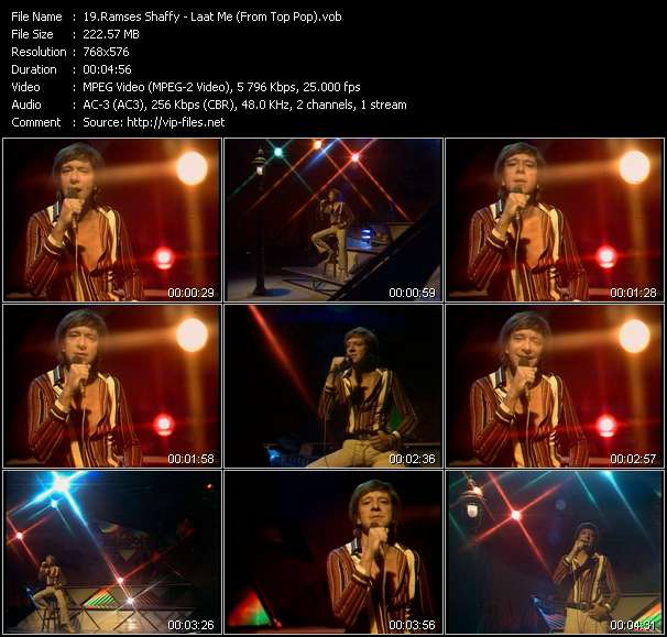Ramses Shaffy video screenshot