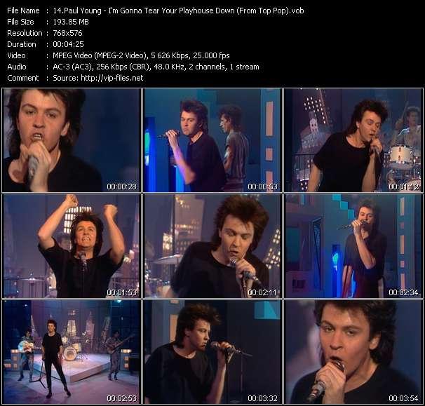 Paul Young video screenshot