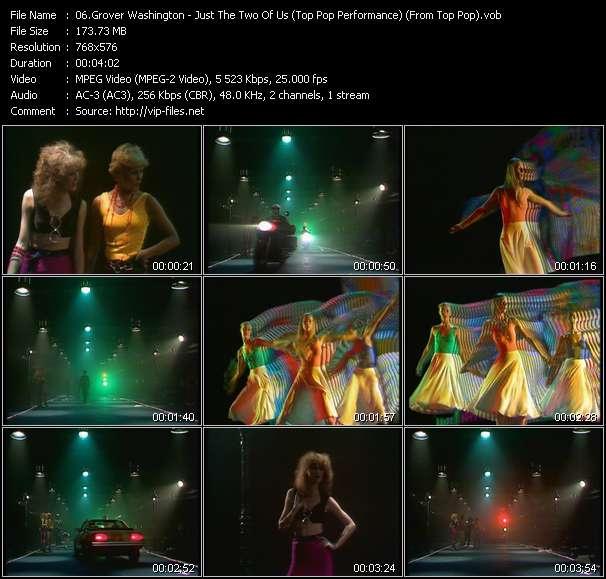 Grover Washington video screenshot