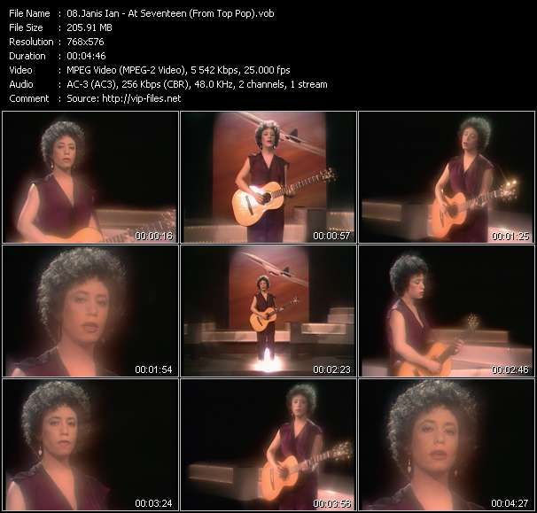 Janis Ian video screenshot