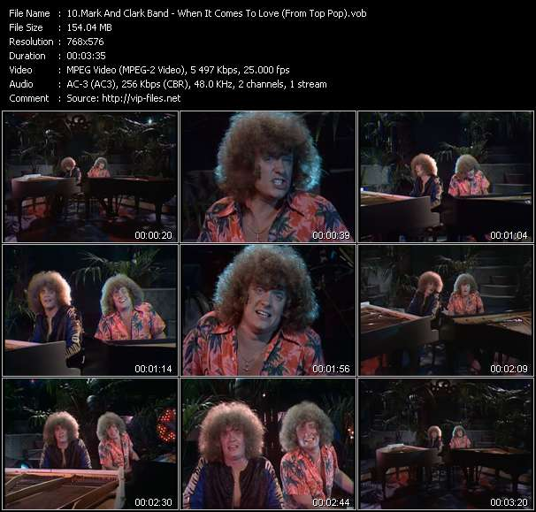 Mark And Clark Band video screenshot