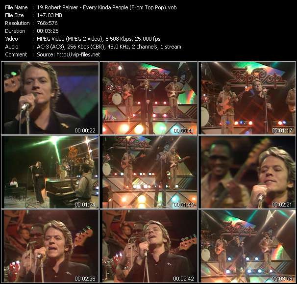 Robert Palmer video screenshot