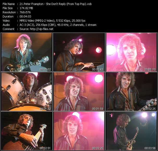 Peter Frampton video screenshot