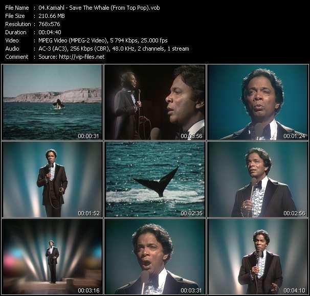 Kamahl video screenshot