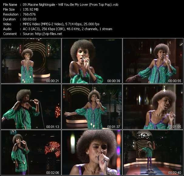 Maxine Nightingale video screenshot