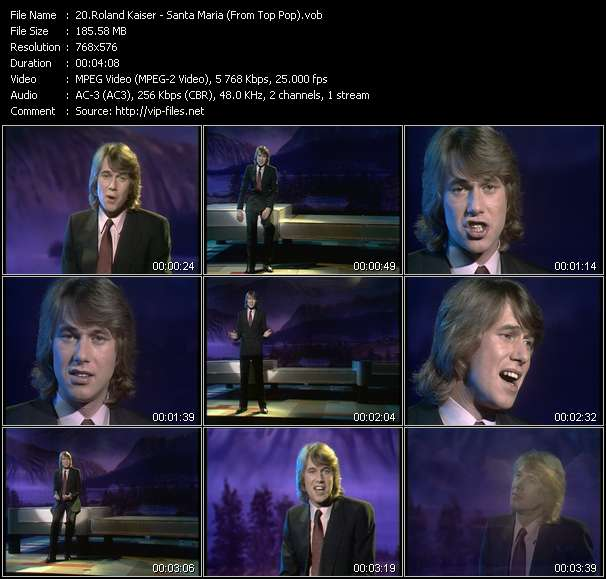 Roland Kaiser video screenshot