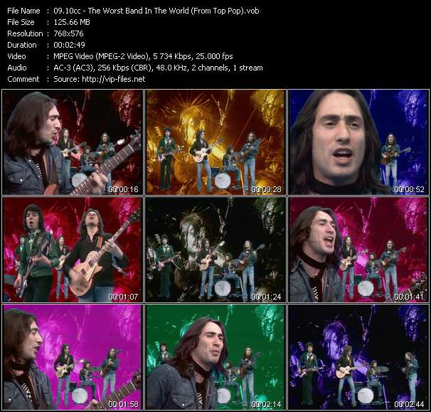 10cc video screenshot