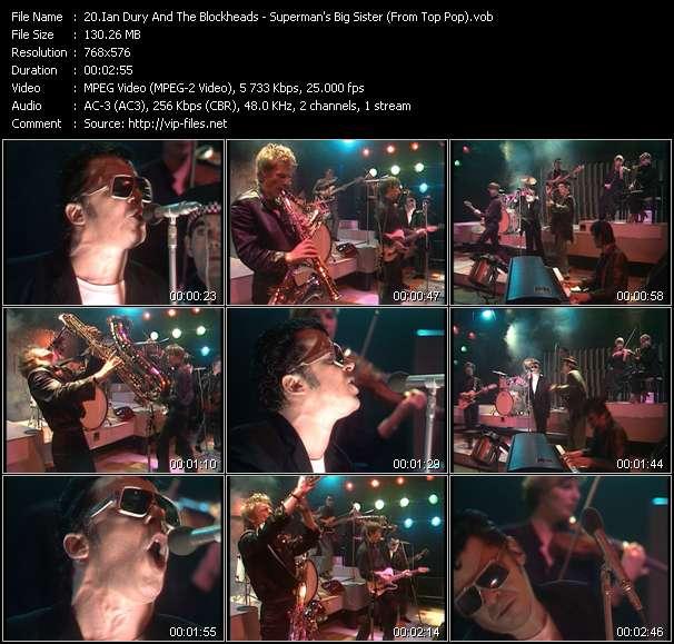 Ian Dury And The Blockheads video screenshot