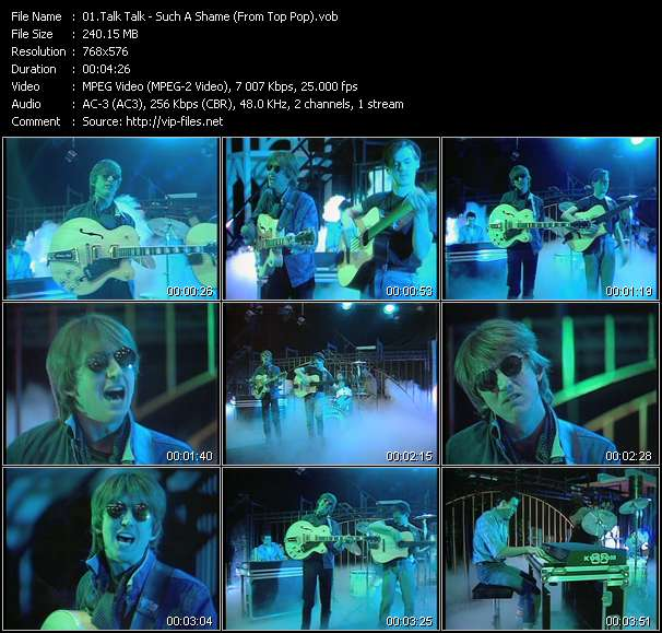 Talk Talk video screenshot