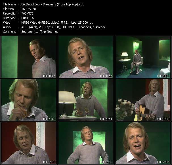 David Soul video screenshot