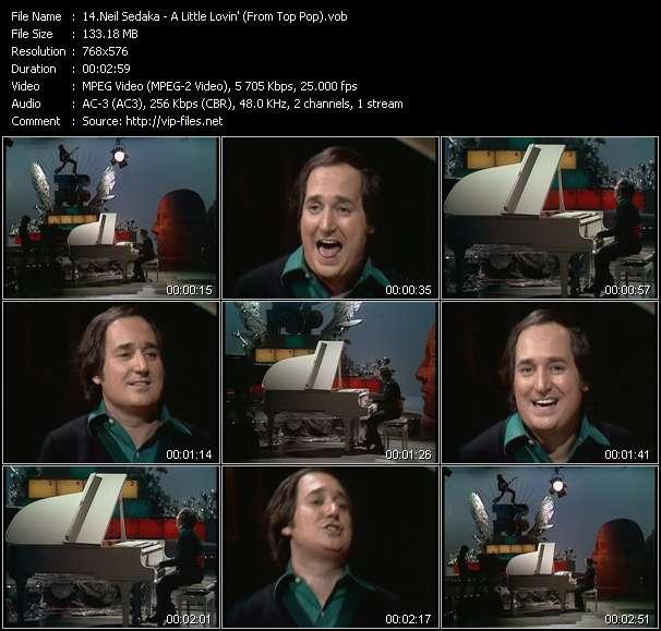 Neil Sedaka video screenshot