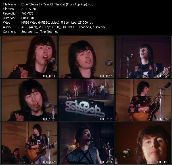 Al Stewart video screenshot