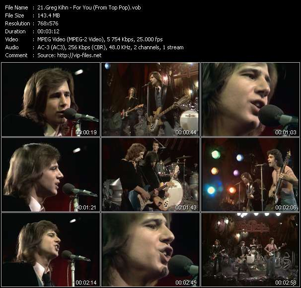 Greg Kihn video screenshot