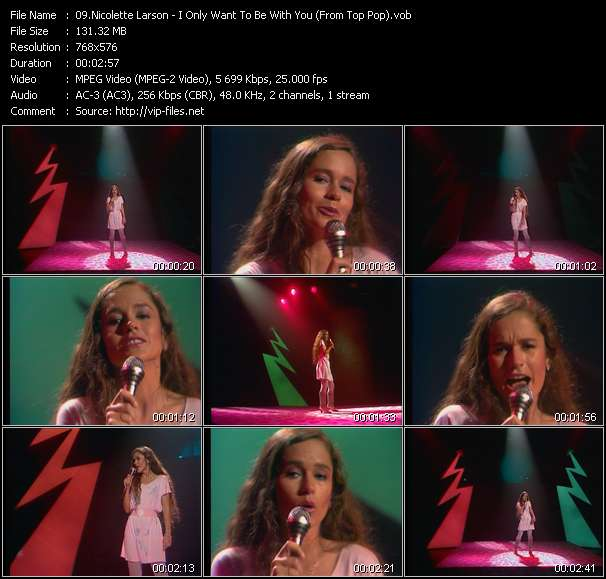Nicolette Larson video screenshot