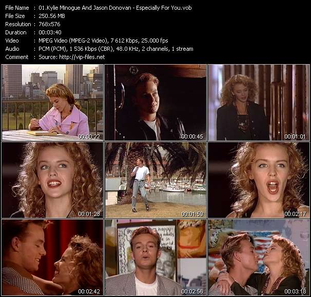 Kylie Minogue And Jason Donovan video screenshot