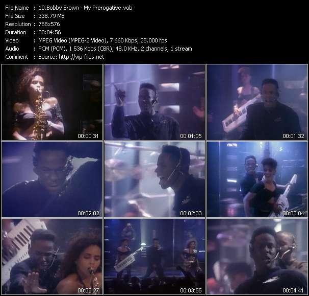 Bobby Brown video screenshot