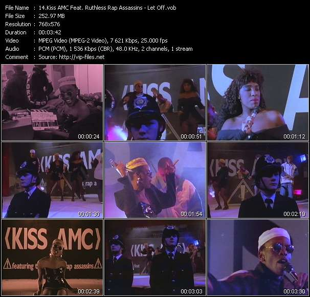 Kiss AMC Feat. Ruthless Rap Assassins video screenshot