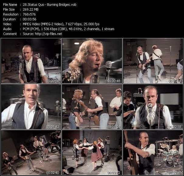 Status Quo video screenshot