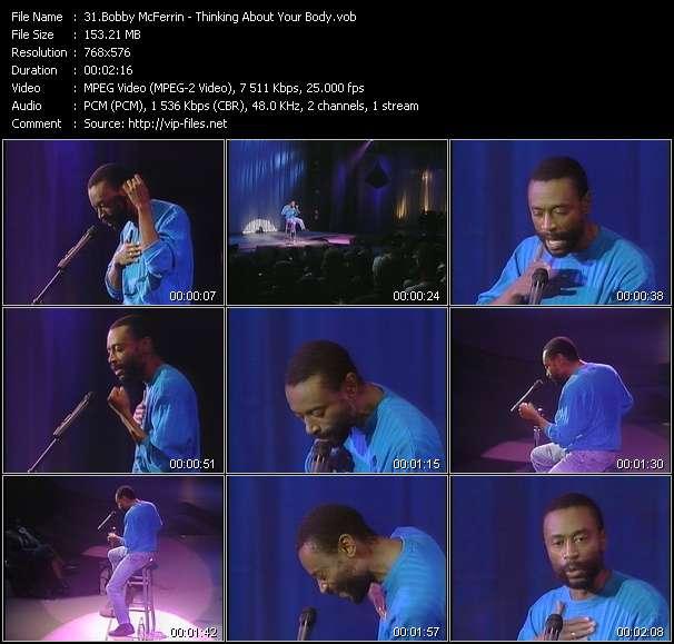 Bobby McFerrin video screenshot