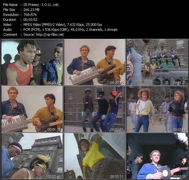 video I.O.U. screen