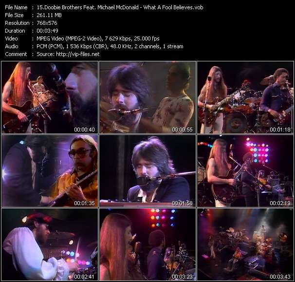 Doobie Brothers Feat. Michael McDonald video screenshot