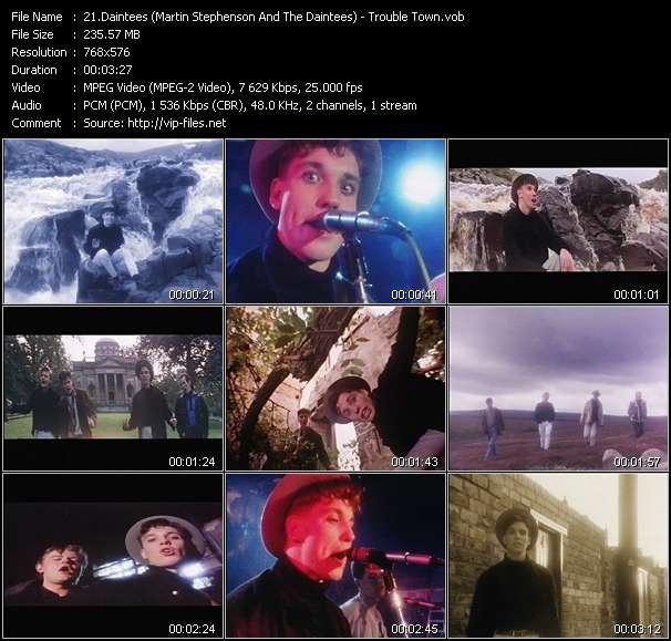 Daintees (Martin Stephenson And The Daintees) video screenshot