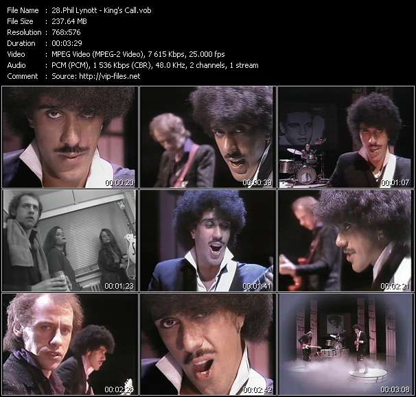 Phil Lynott video screenshot