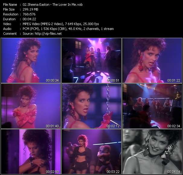 Sheena Easton video screenshot