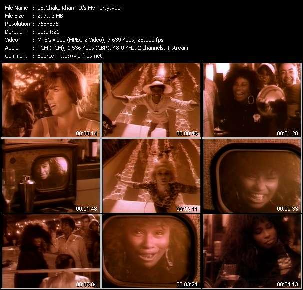 Chaka Khan video screenshot