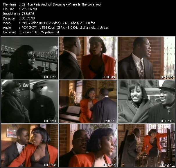 Mica Paris And Will Downing video screenshot