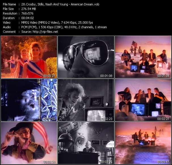 Crosby, Stills, Nash And Young video screenshot