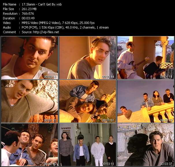 Slamm video screenshot