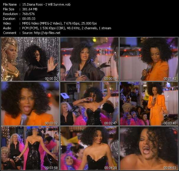Diana Ross video screenshot