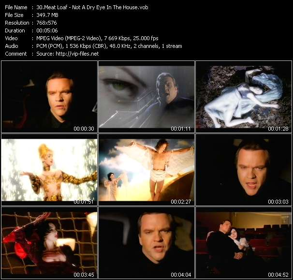 Meat Loaf video screenshot