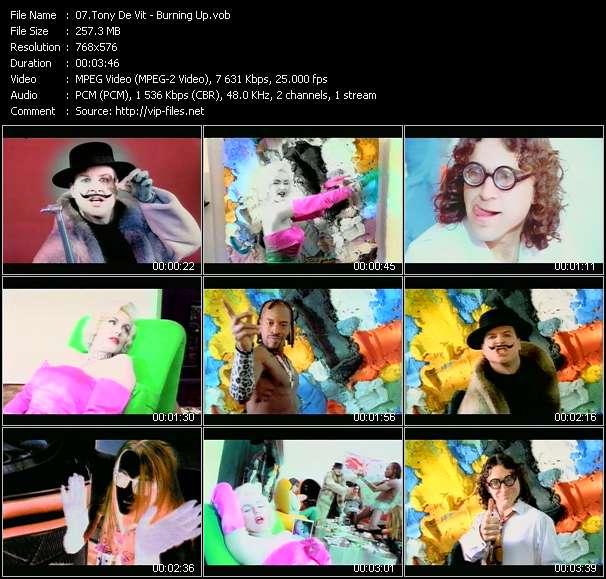 Tony De Vit video screenshot