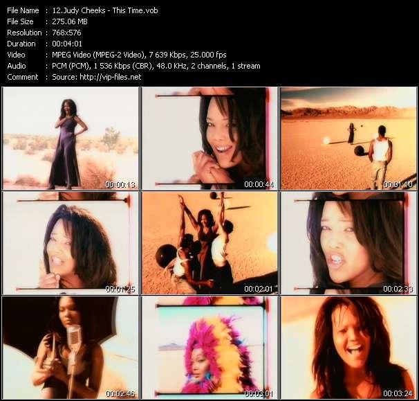 Judy Cheeks video screenshot