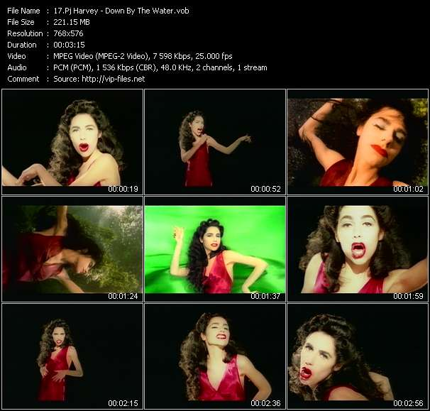 Pj Harvey video screenshot