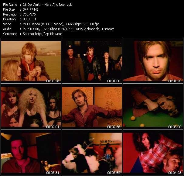 Del Amitri video screenshot