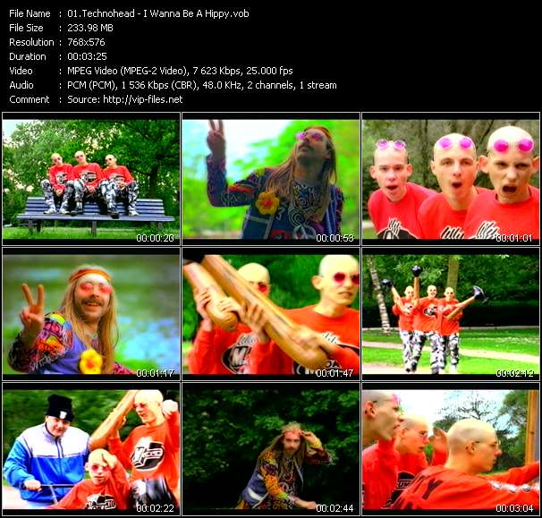 Technohead video screenshot