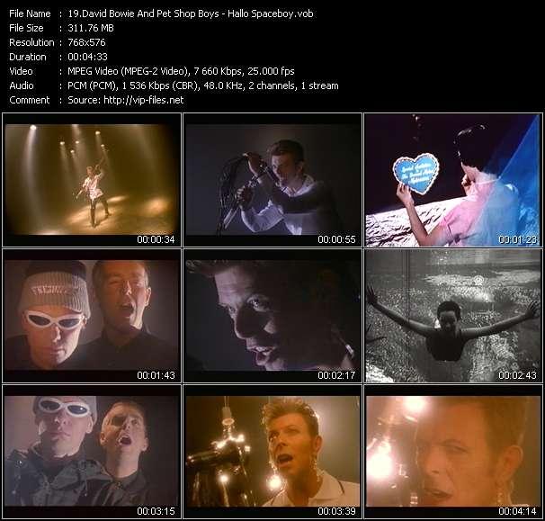 David Bowie And Pet Shop Boys video screenshot