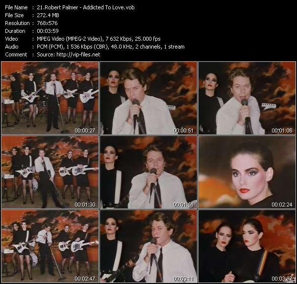 Robert Palmer video screenshot