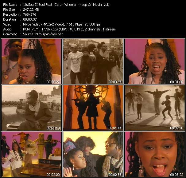 Soul II Soul Feat. Caron Wheeler video screenshot