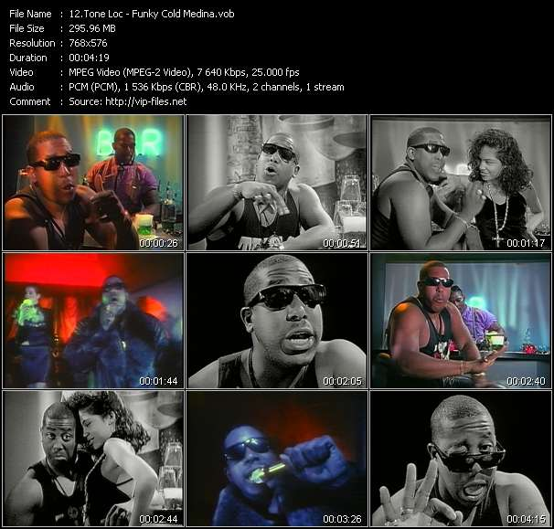 Tone Loc video screenshot