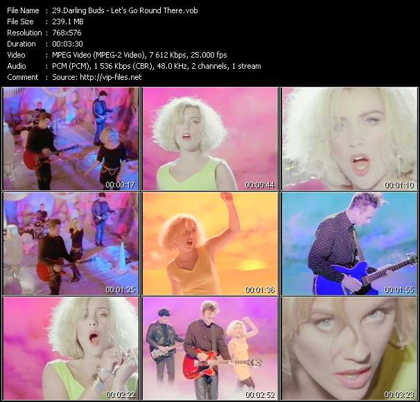 Darling Buds video screenshot