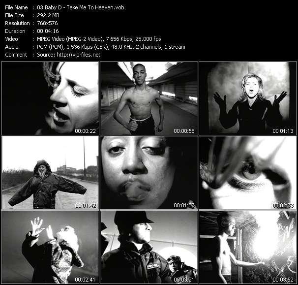 Baby D video screenshot