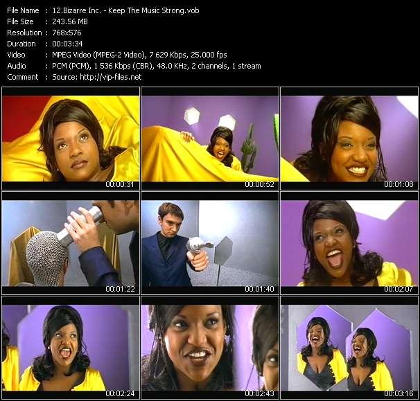 Bizarre Inc. video screenshot