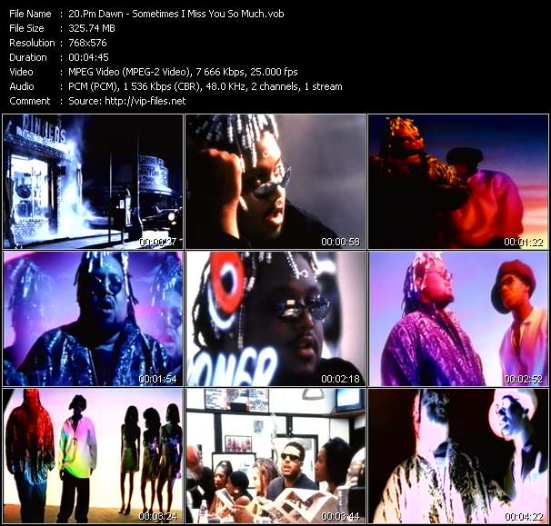 Pm Dawn video screenshot