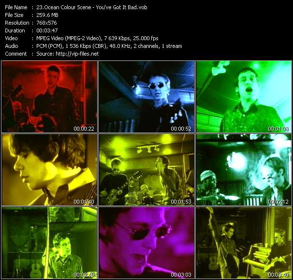 Ocean Colour Scene video screenshot